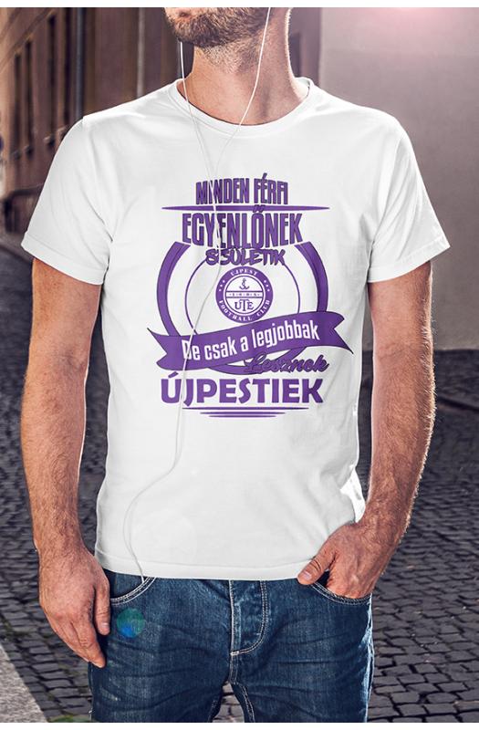 A legjobbak lesznek Újpestiek póló