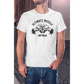 Ultimate Muscle edző póló - egyedi névvel -