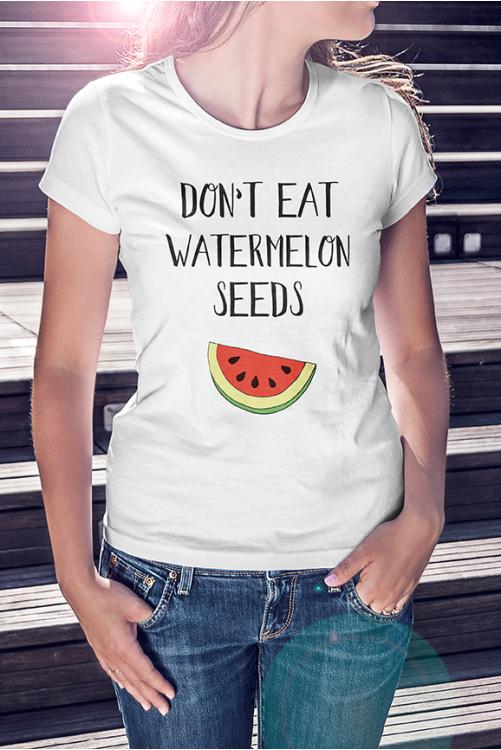 Don't eat watermelon seeds PólóNe edd meg a dinnyamagot póló