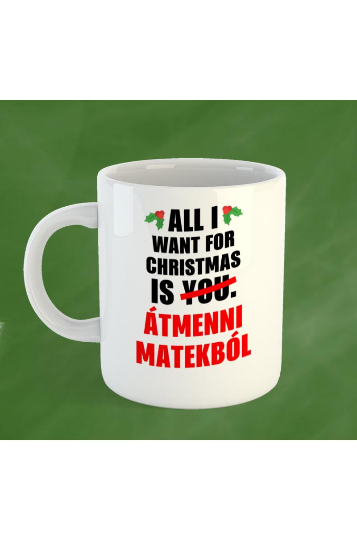 Amit karácsonyra kérek bögre