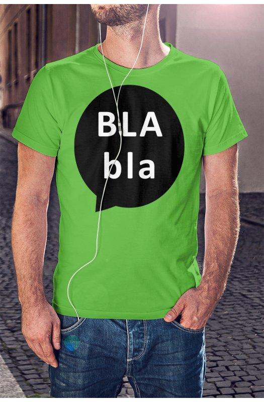 Bla bla szövegbuborék póló