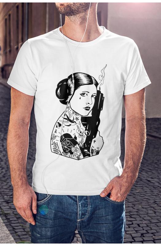 Leia póló