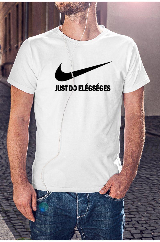 Just Do Elégséges póló