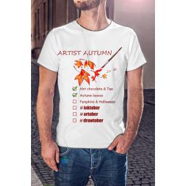 Artist Autumn férfi póló