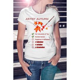 Artist Autumn női póló
