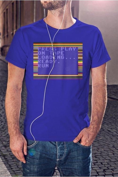 Commodore 64 (C64) póló - Kazetta betöltés
