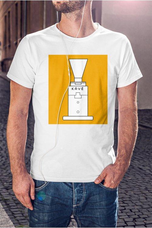 Kávédarálós póló