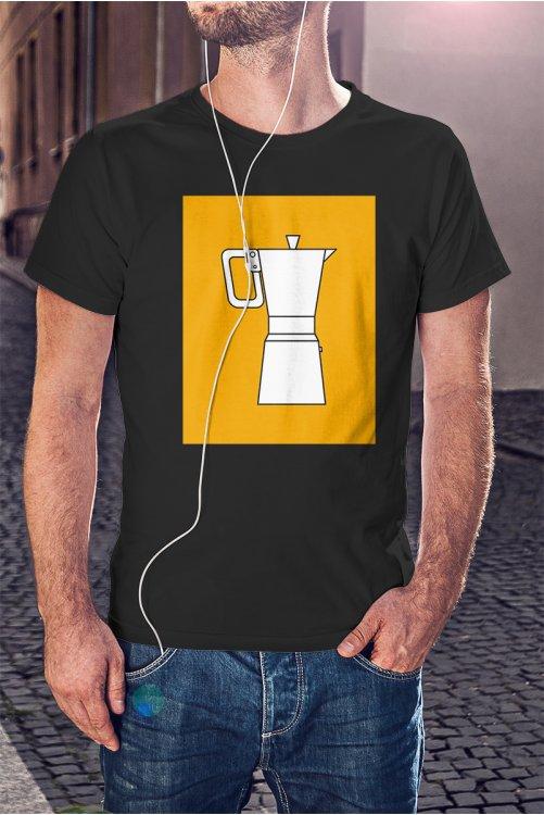 Kotyogós kávéfőzős póló