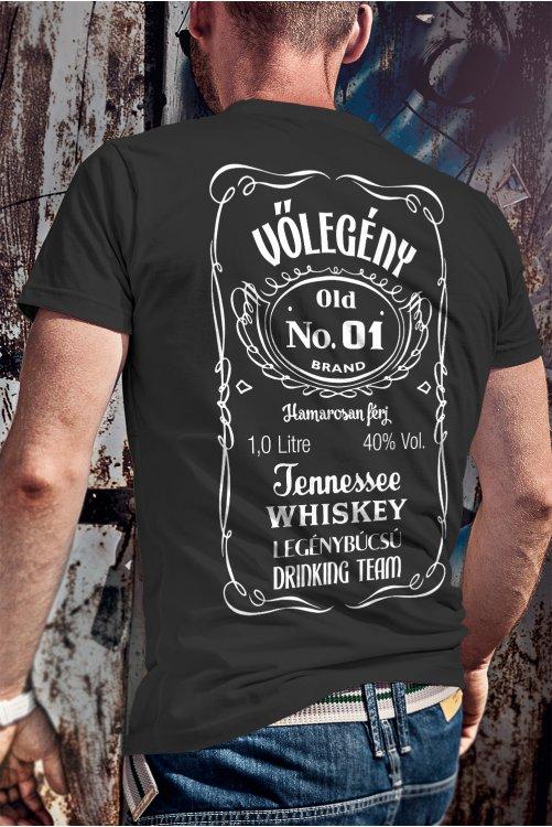 Legénybúcsú drinking team póló (vőlegénynek)