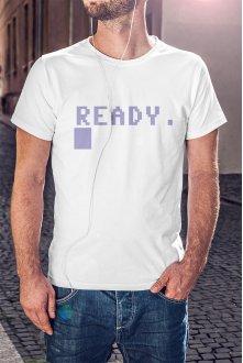 Commodore 64 póló - Ready (C64...