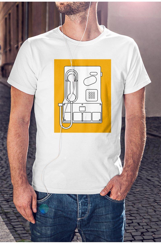 Telefonfülkés póló