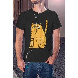 Rajtakapott macska póló
