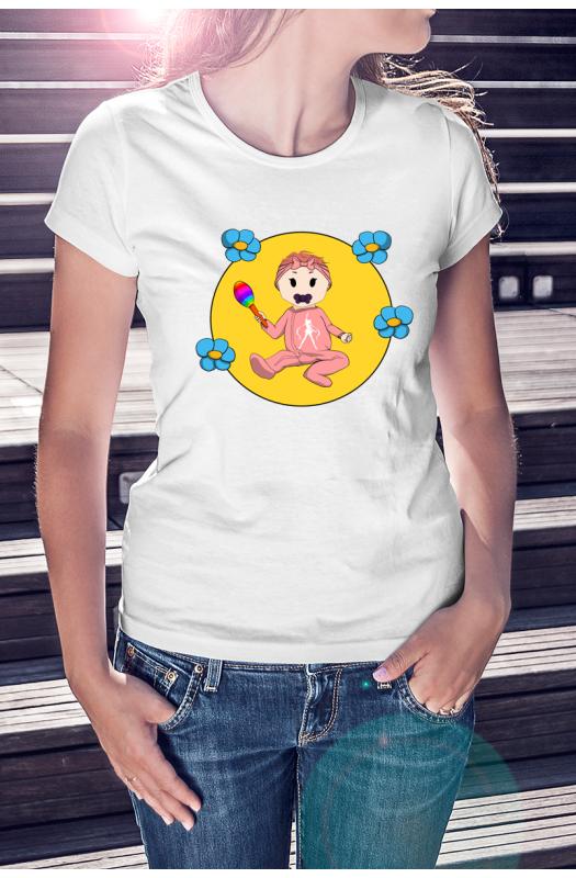Baba-mama póló