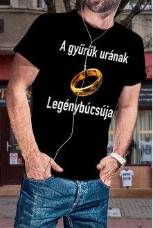 Gyűrűk ura legénybúcsú póló...