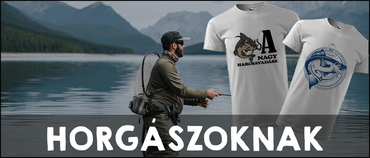 Horgászoknak Pólók