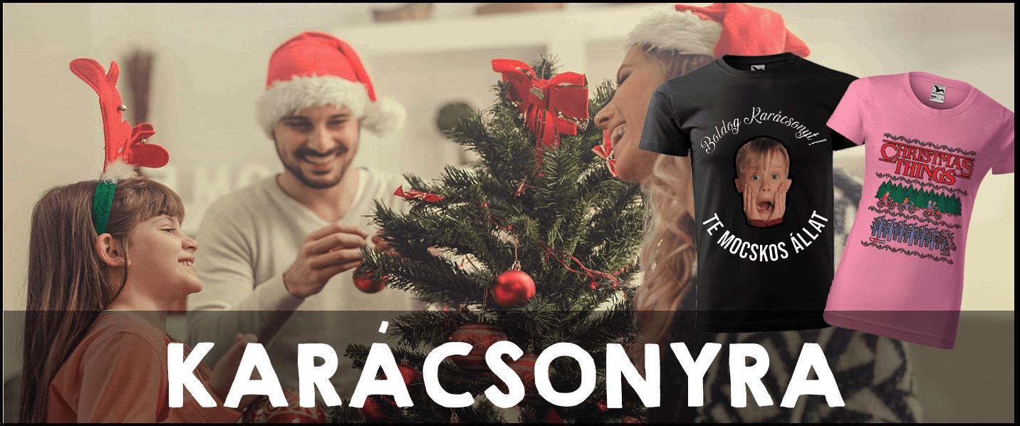 Pólók Karácsonyra